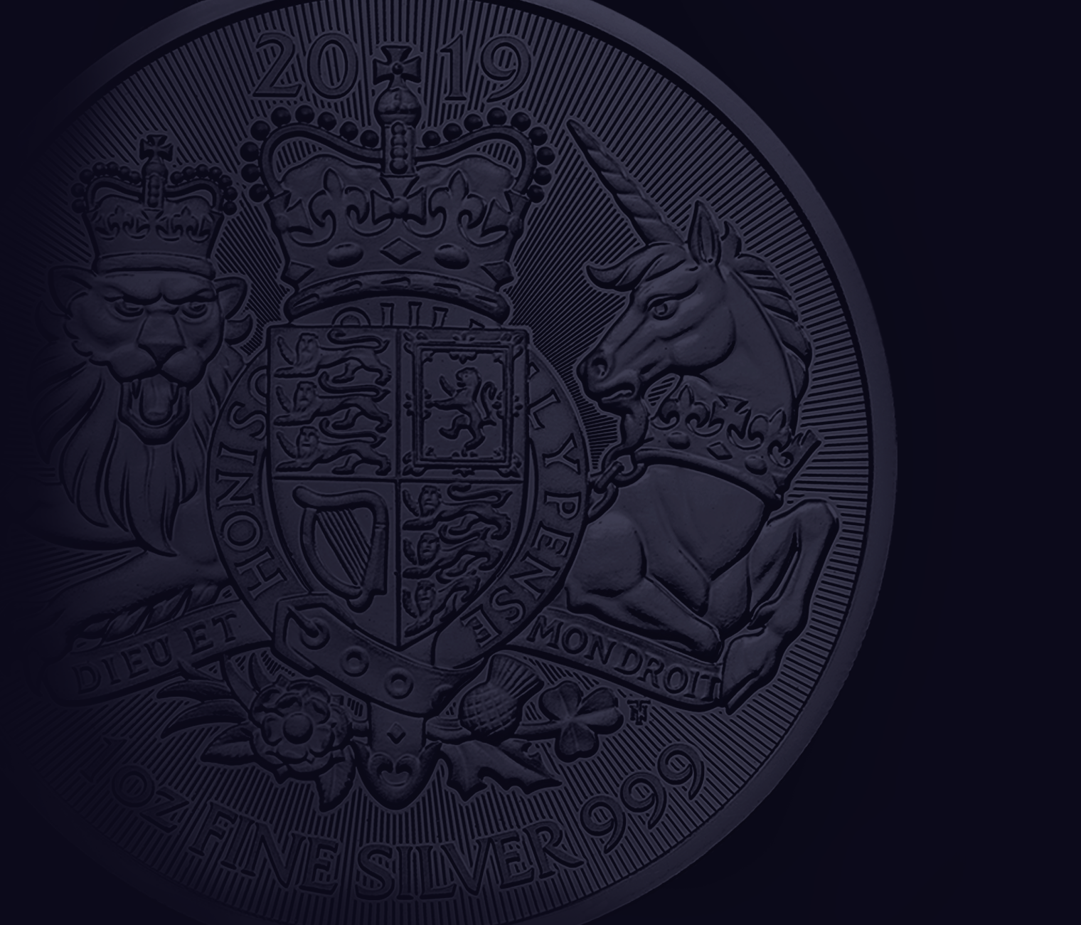 2019 UK Coat of Arms 1oz Silver Coin