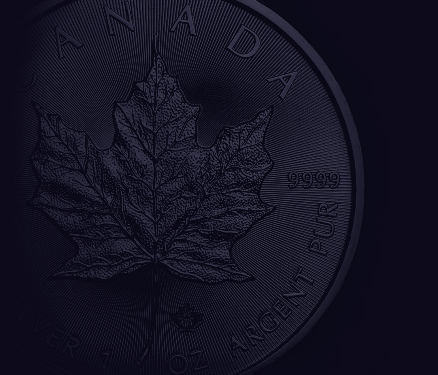 2019 Canadian Maple 1oz Silver Coin