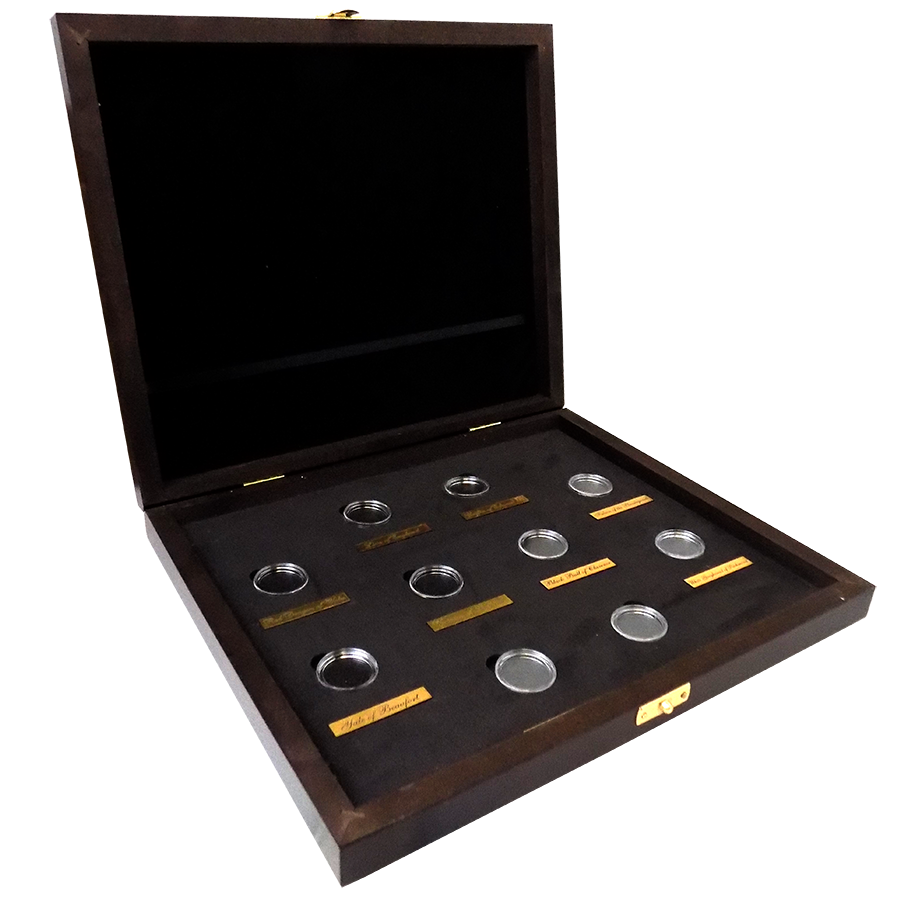 Wooden Box for Queen's Beasts 1/4oz Gold Coins