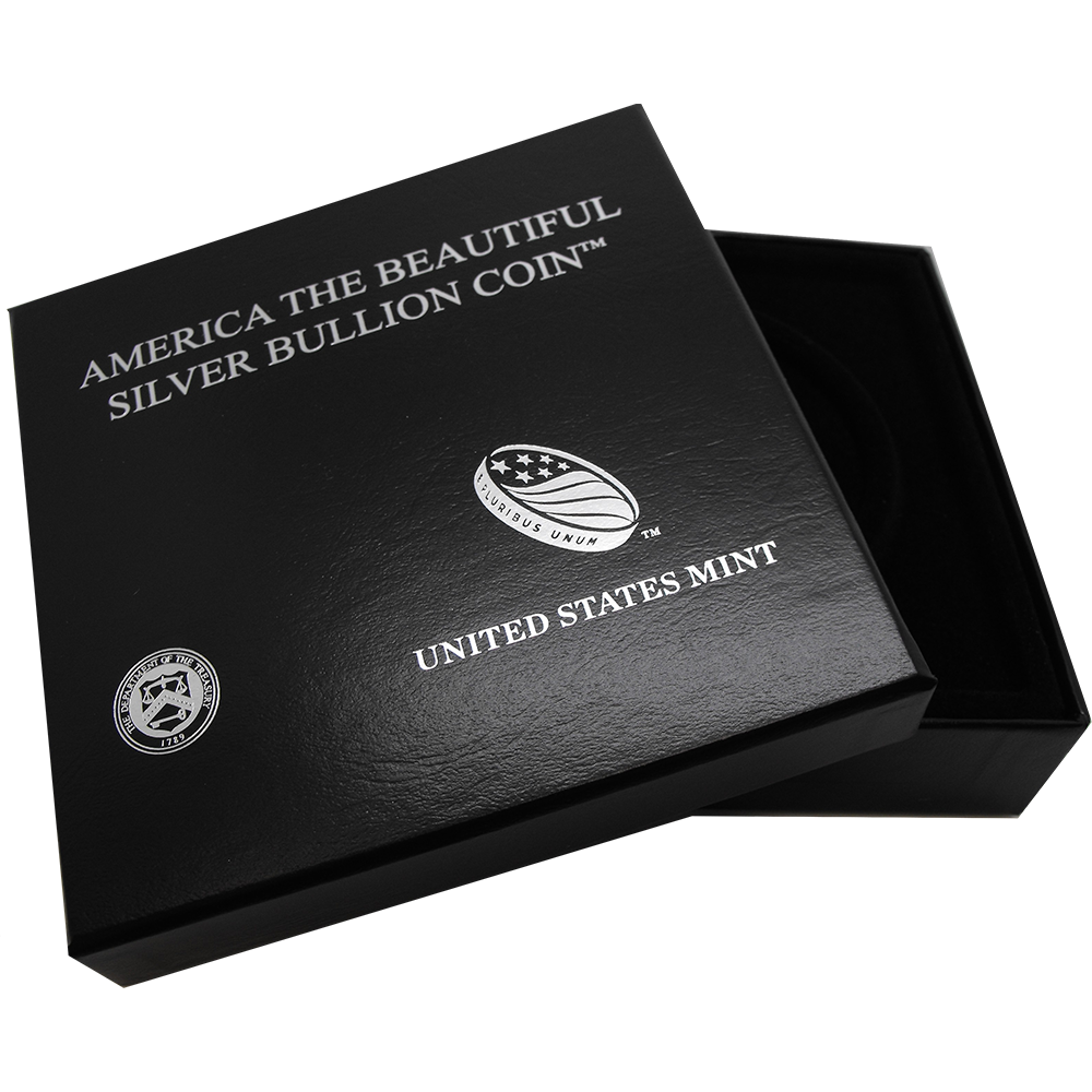 America the Beautiful 5oz Mint Box (Image 1)