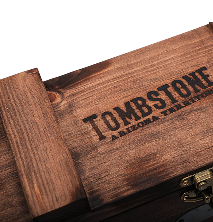 Wooden Scottsdale Tombstone Monster Box (Image 2)