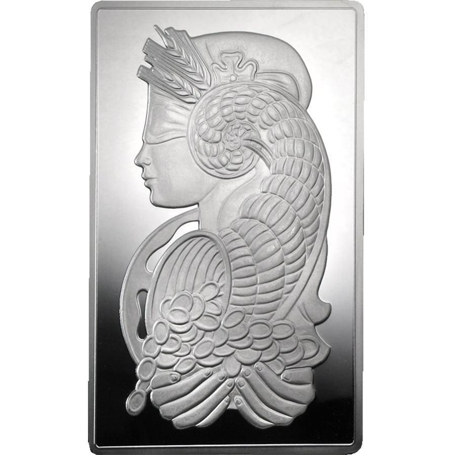 Pre-Owned PAMP Suisse Fortuna 10oz Silver Bar