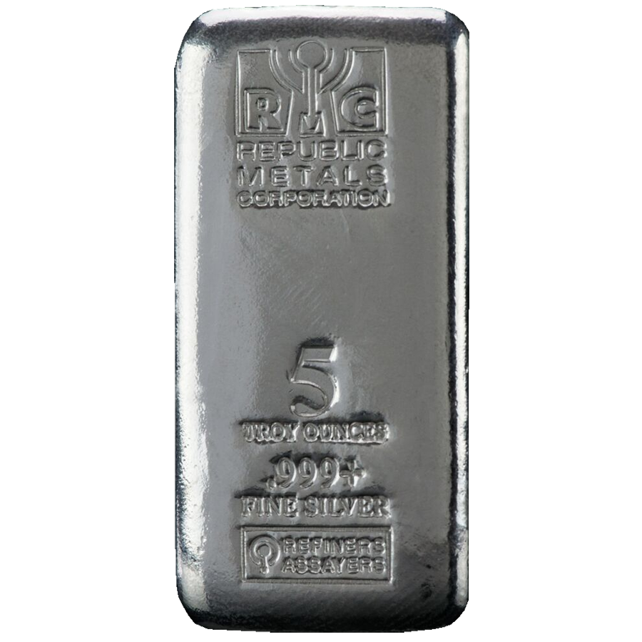 RMC 5oz Cast Silver Bar