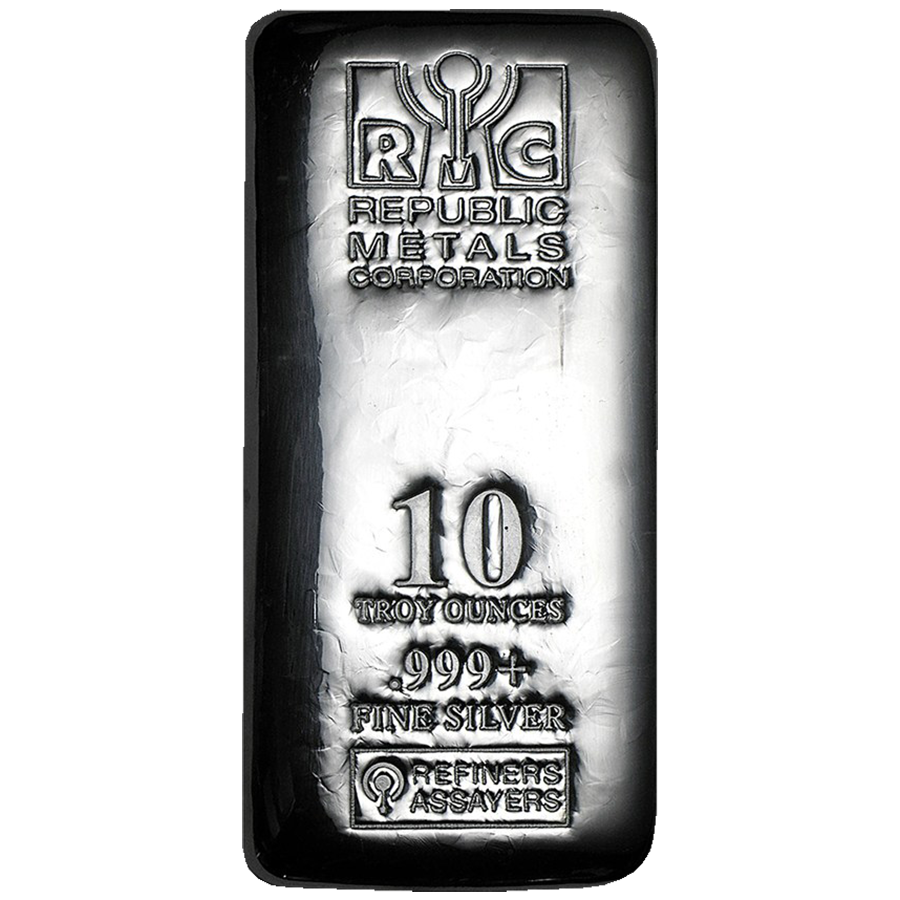 RMC 10oz Cast Silver Bar