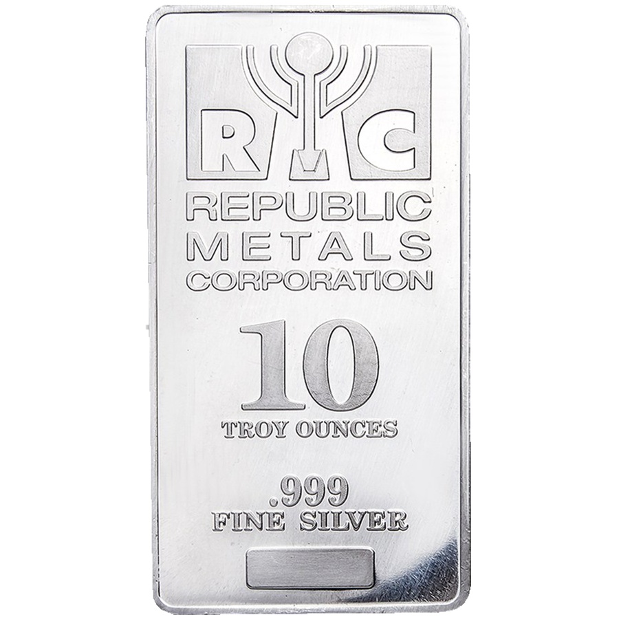 RMC 10oz Stamped Silver Bar