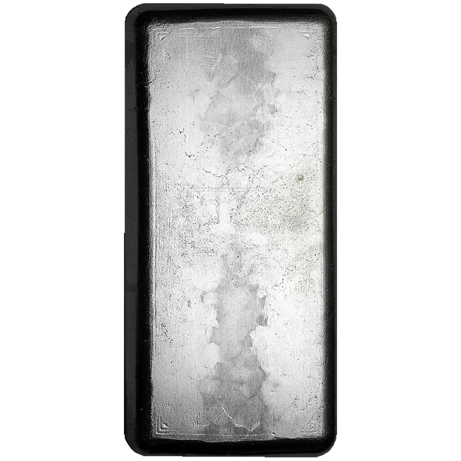 RMC 1kg Cast Silver Bar (Image 2)
