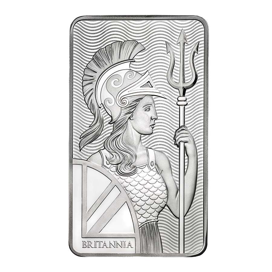 Royal Mint Britannia 10oz Silver Bar