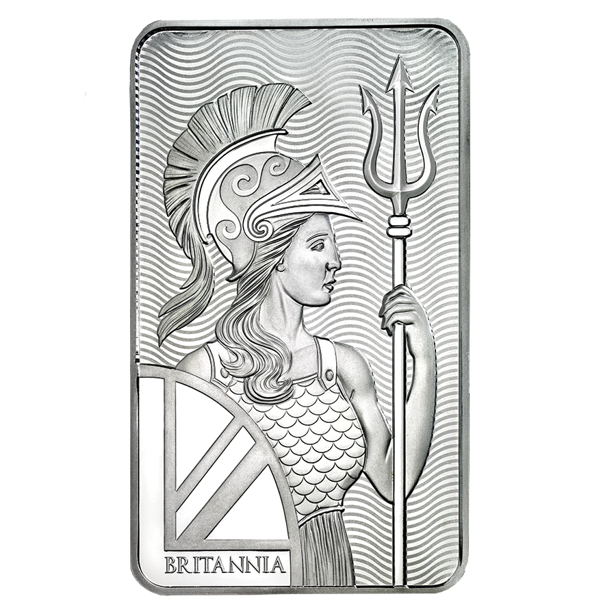 Royal Mint Britannia 100oz Silver Bar