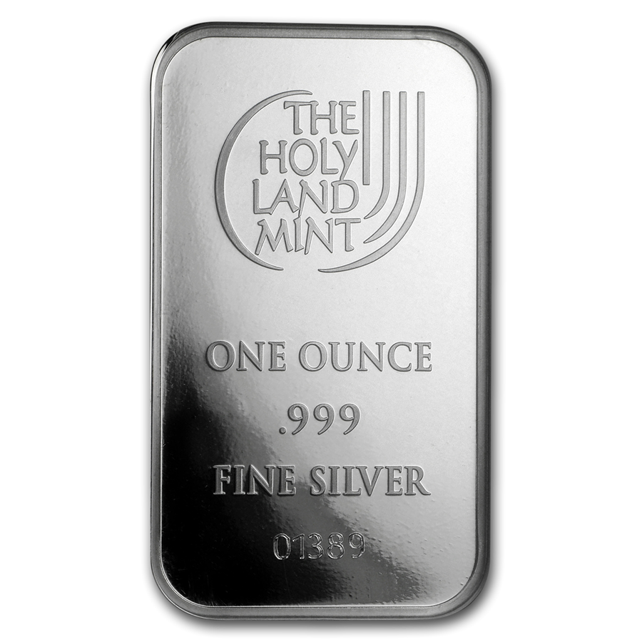 Holy Land Mint Dove of Peace 1oz Silver Bar (Image 4)