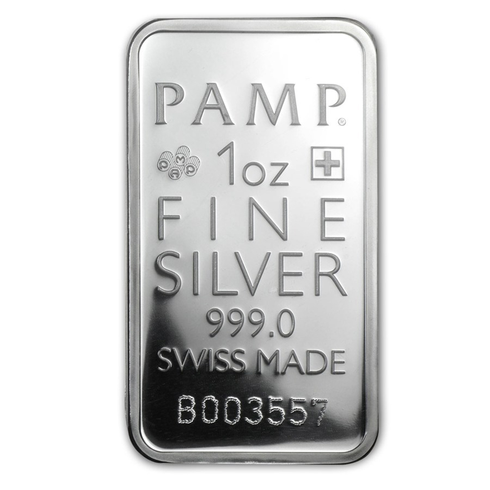 PAMP True Happiness 1oz Silver Bar (Image 3)