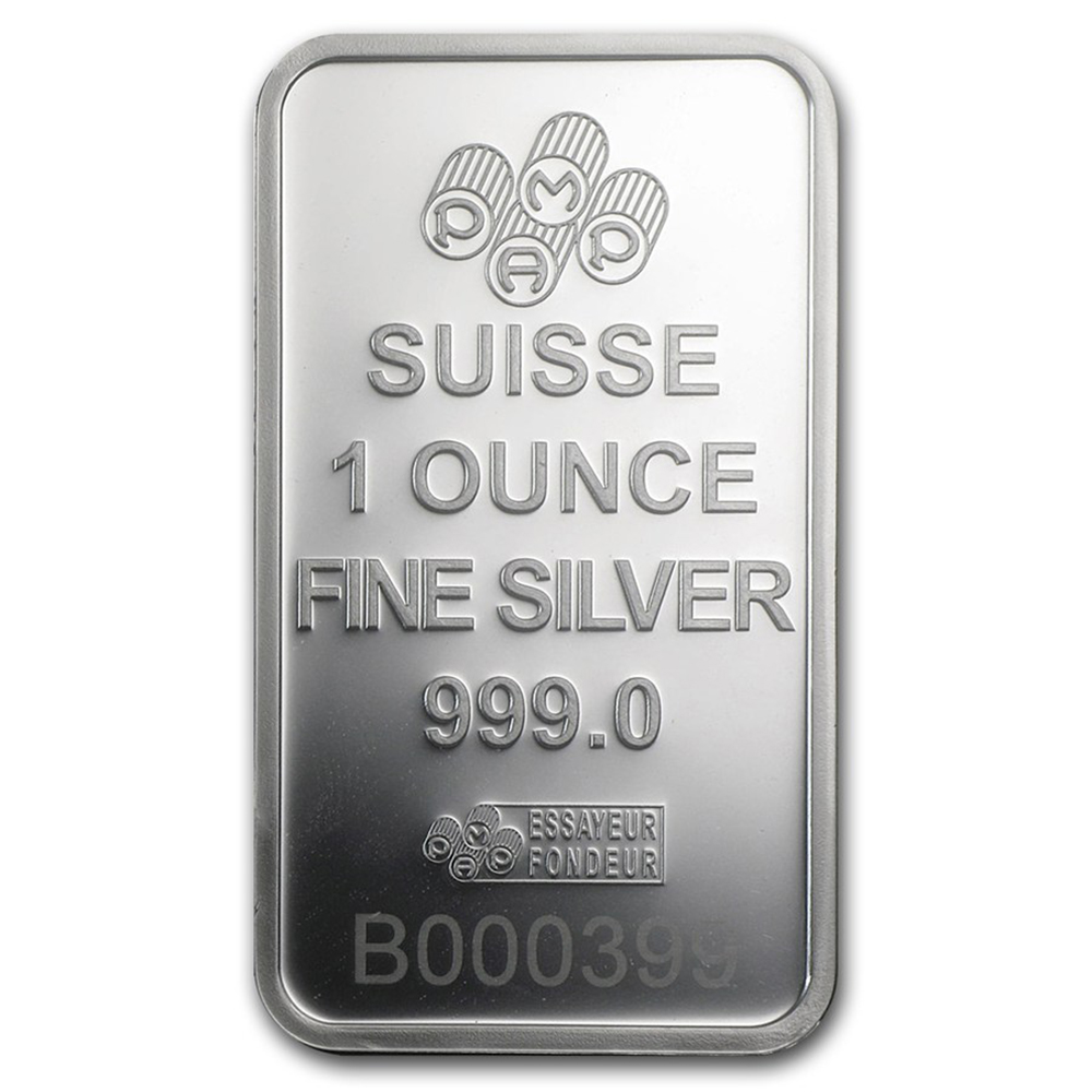 Pamp Suisse Rosa 1oz Silver Bar Atkinsons Silver Bullion