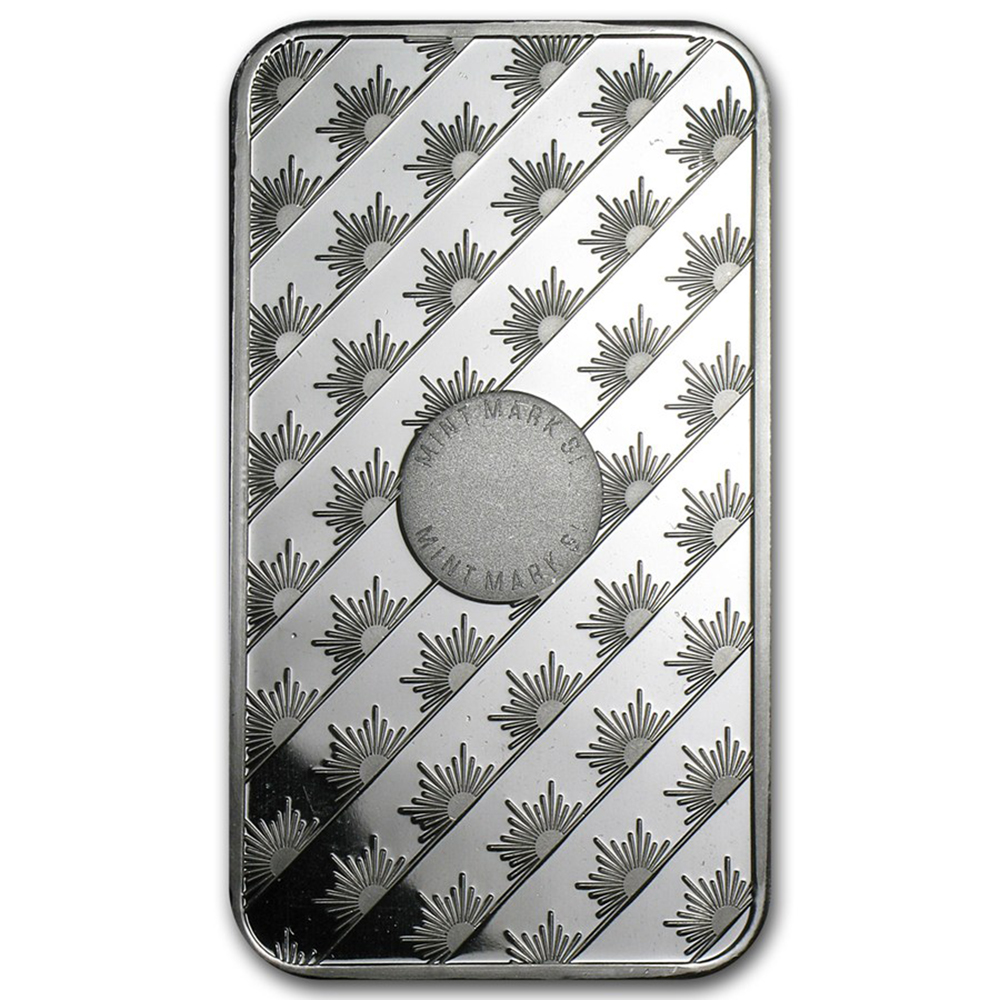 Sunshine Mint 5oz Silver Bar (Image 2)