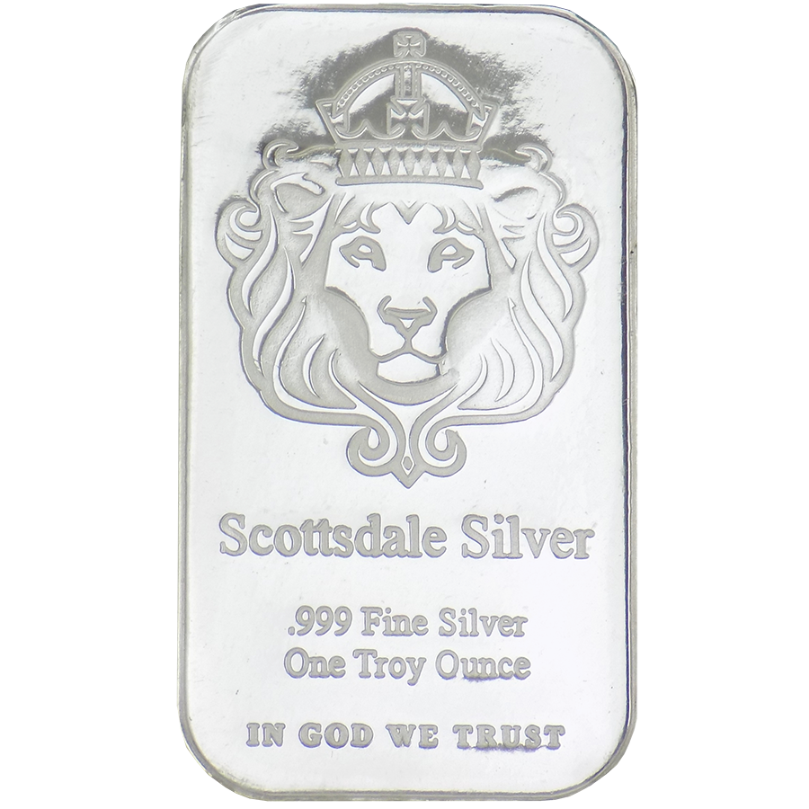 Scottsdale Mint 1oz 'The One' Silver Bar (Image 1)