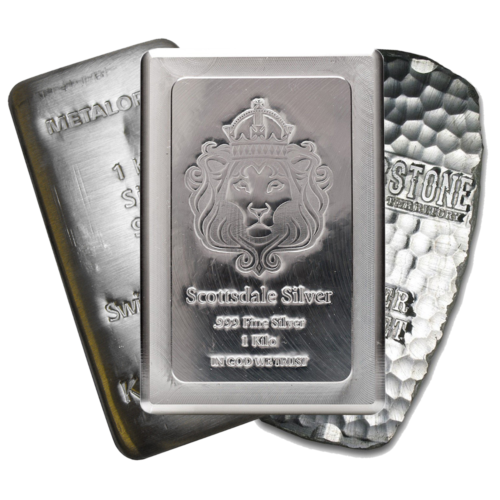Pre-Owned 1kg Silver Bar