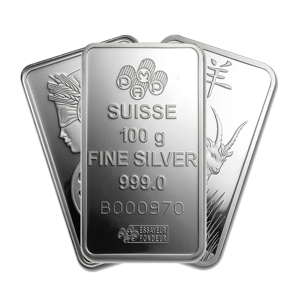 Pre-Owned 100g Silver Bar