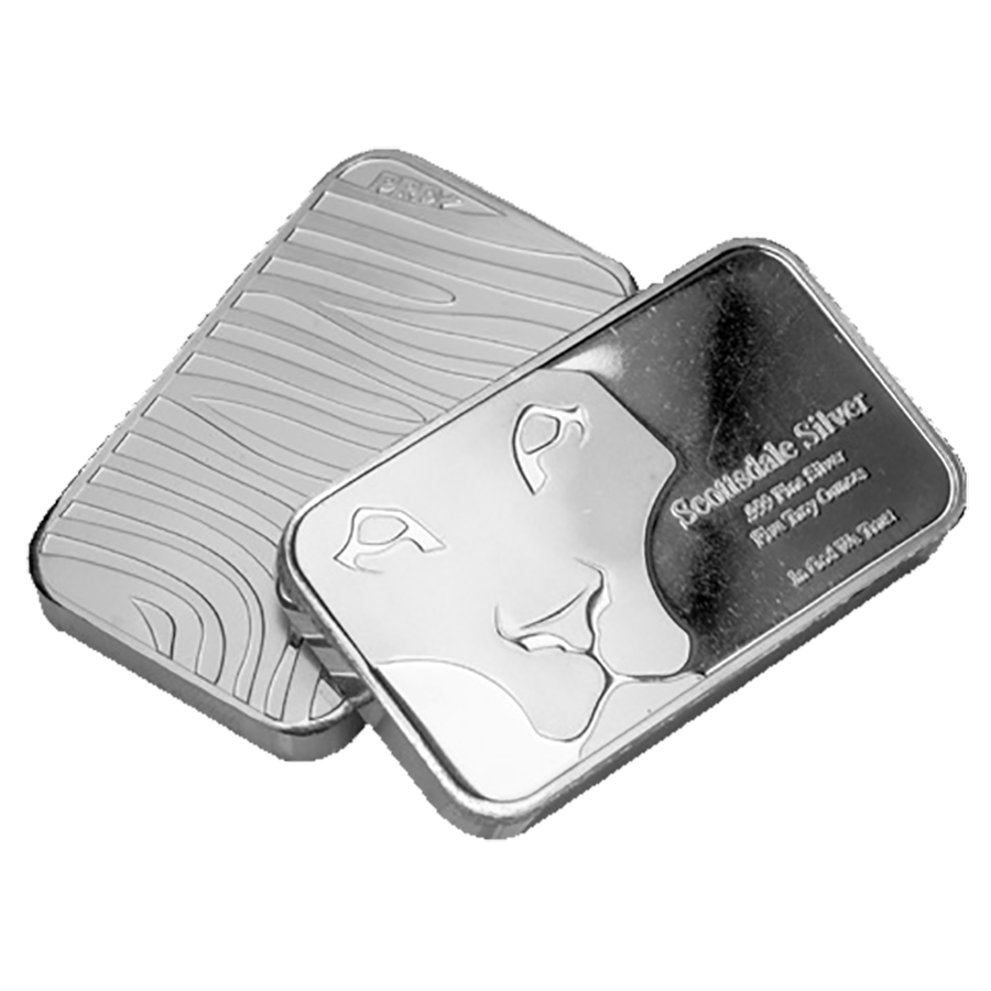 Scottsdale Mint 5oz Prey Bar