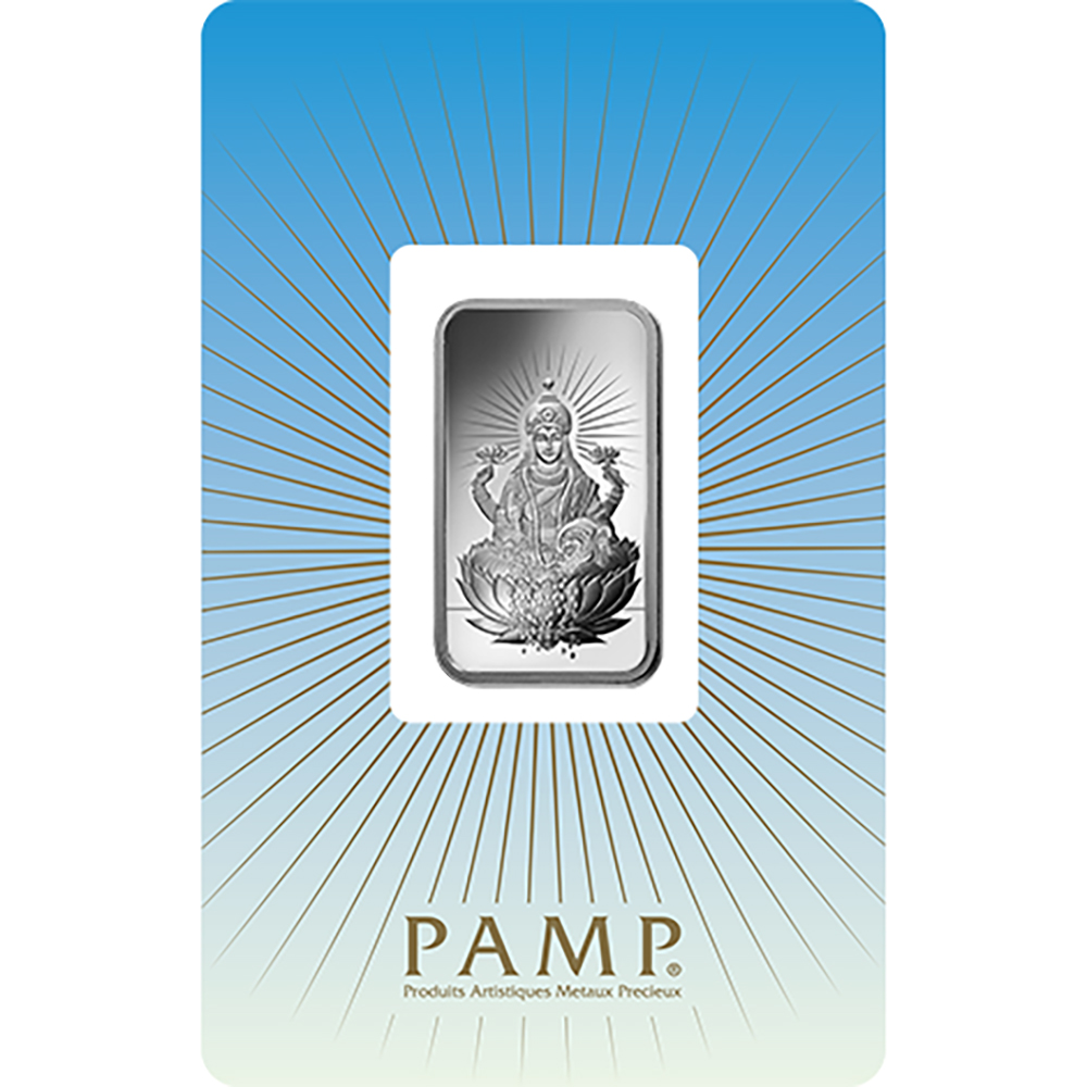 PAMP 'Faith' Lakshmi 10g Silver Bar