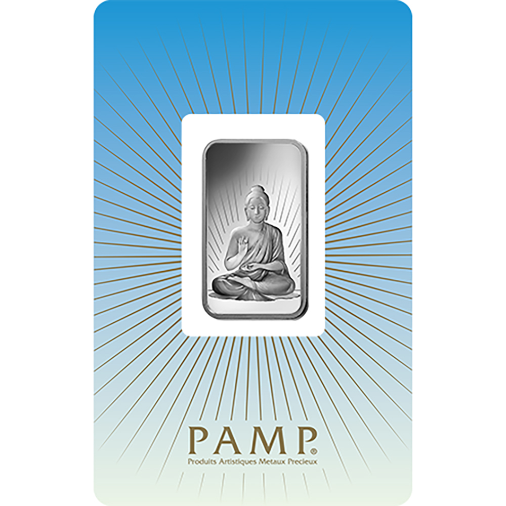 PAMP 'Faith' Buddha 1oz Silver Bar