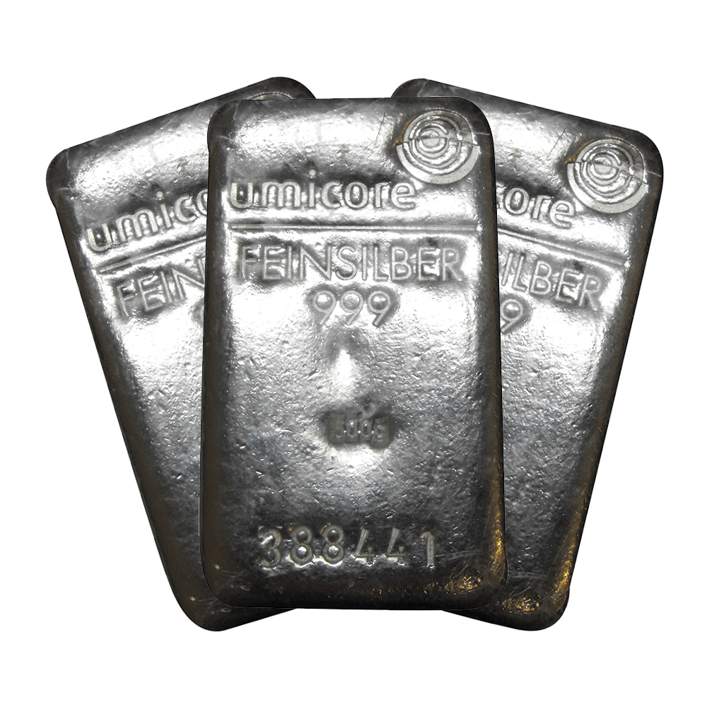 Pre-Owned 500g Silver Bar