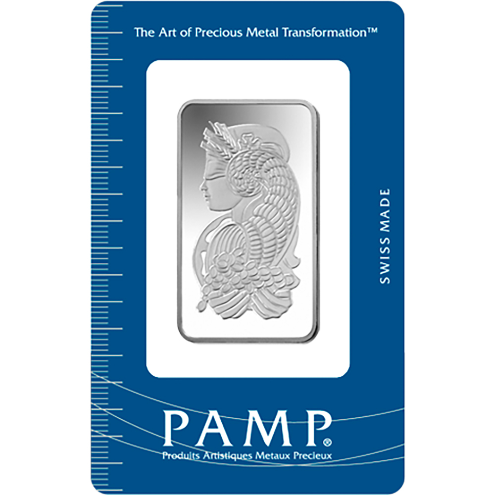 PAMP Suisse Fortuna 1oz Silver Bar with Gift Box & Certificate (Image 2)