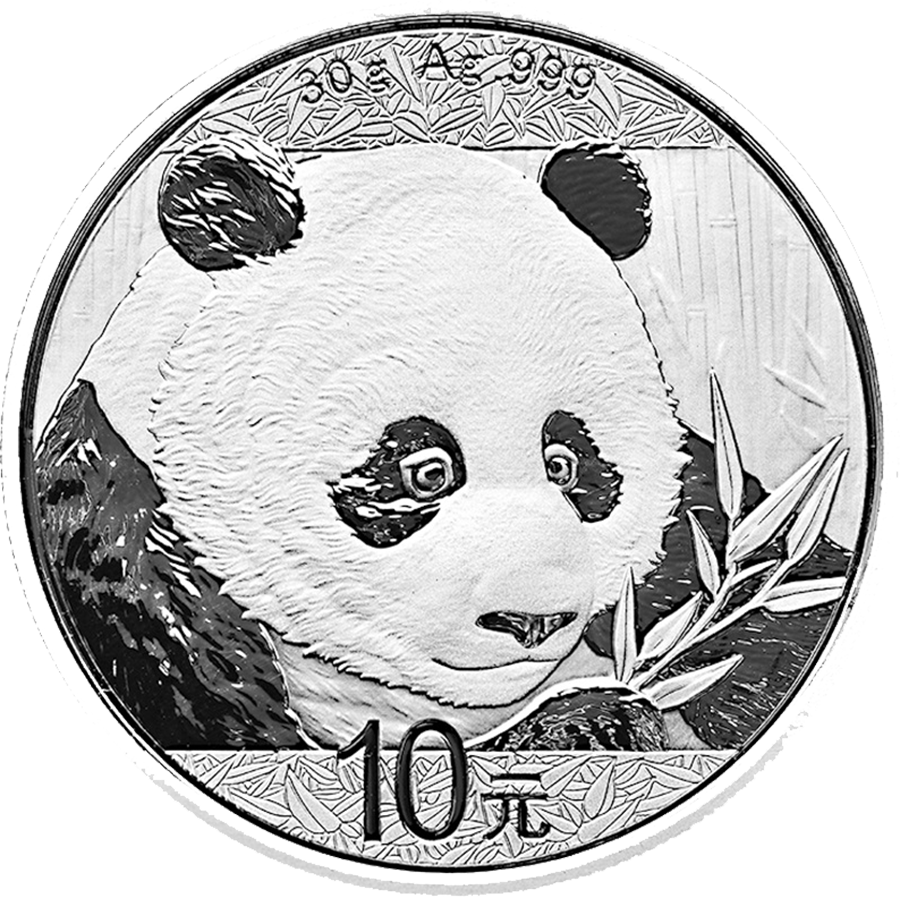 2018 Chinese Panda 30g Silver Coin Bundle - 15 Coins (Image 2)