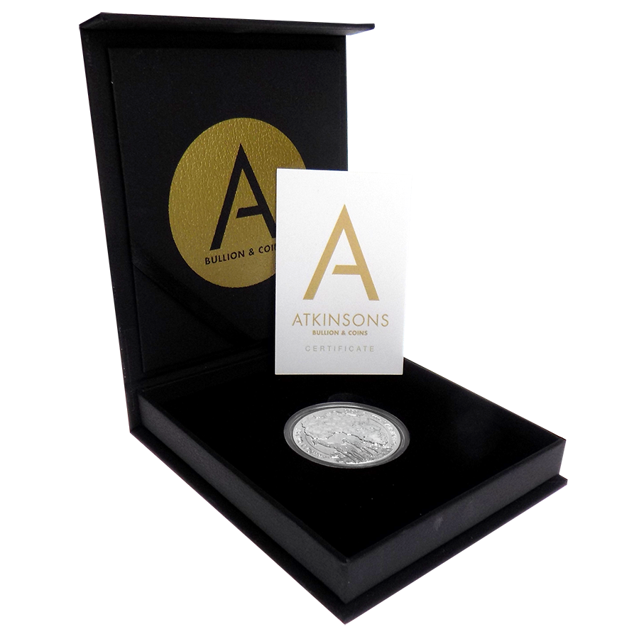 2018 South African Krugerrand 1oz Silver Coin with Gift Box & Certificate