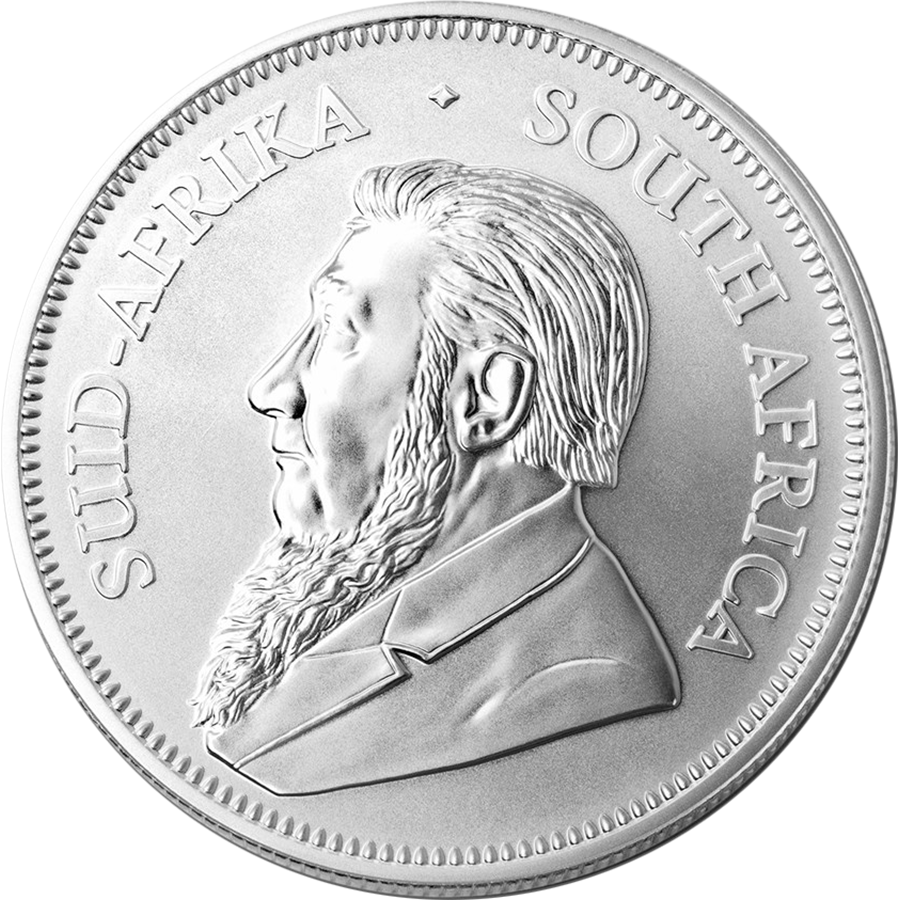 2018 South African Krugerrand 1oz Silver Coins in Tube - (25 Coins) (Image 3)