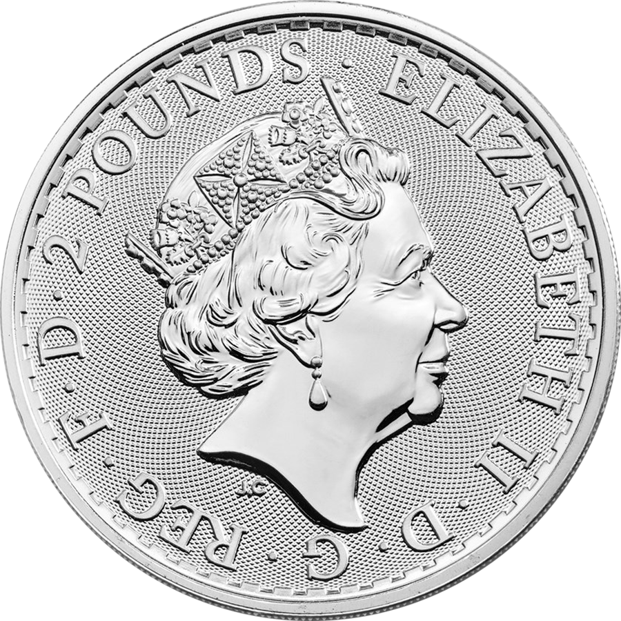 2019 UK Britannia 1oz Silver Coin - Mini Box of 100 Coins (Image 4)