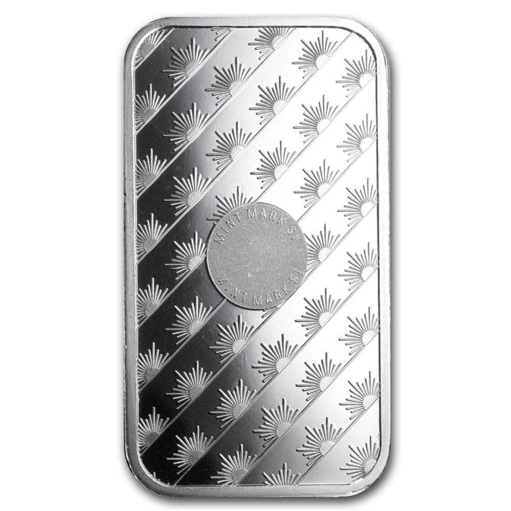 Sunshine Mint 1oz Silver Bar with Capsule (Image 3)