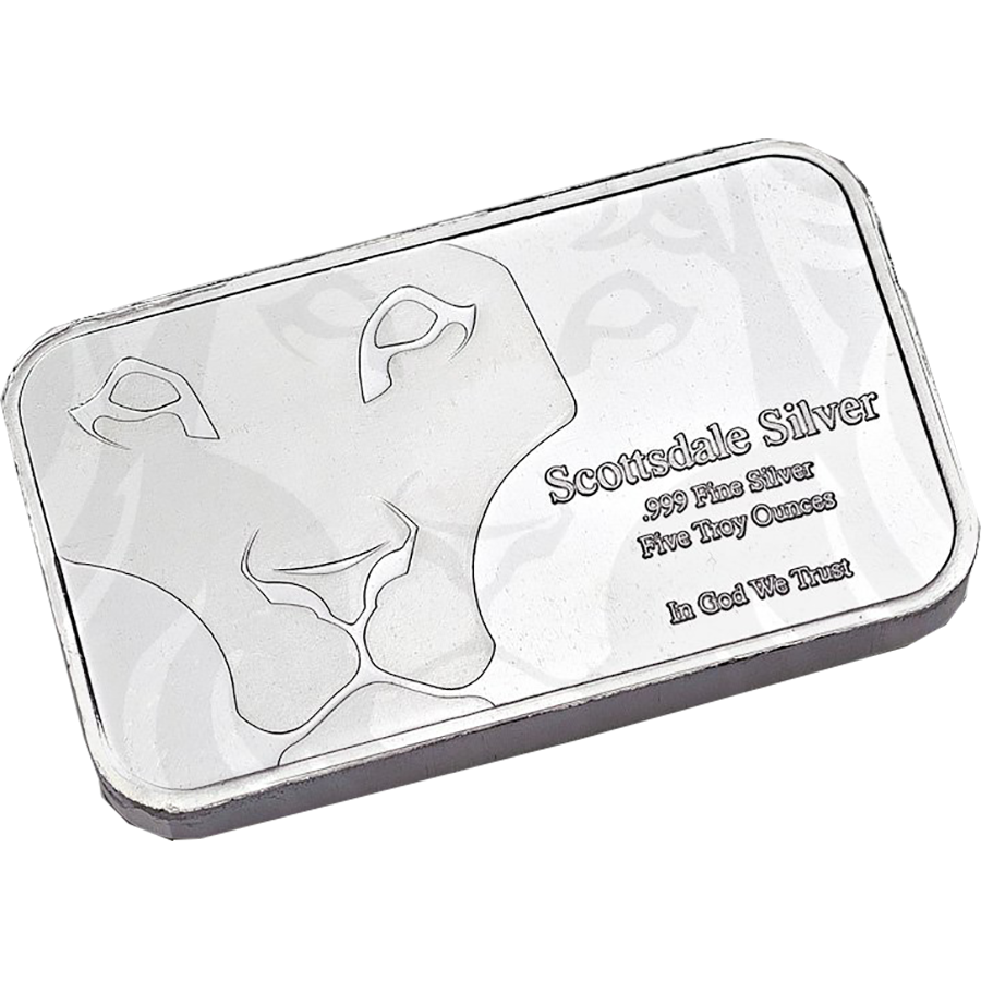Scottsdale Mint 5oz Prey Bar with Capsule (Image 2)