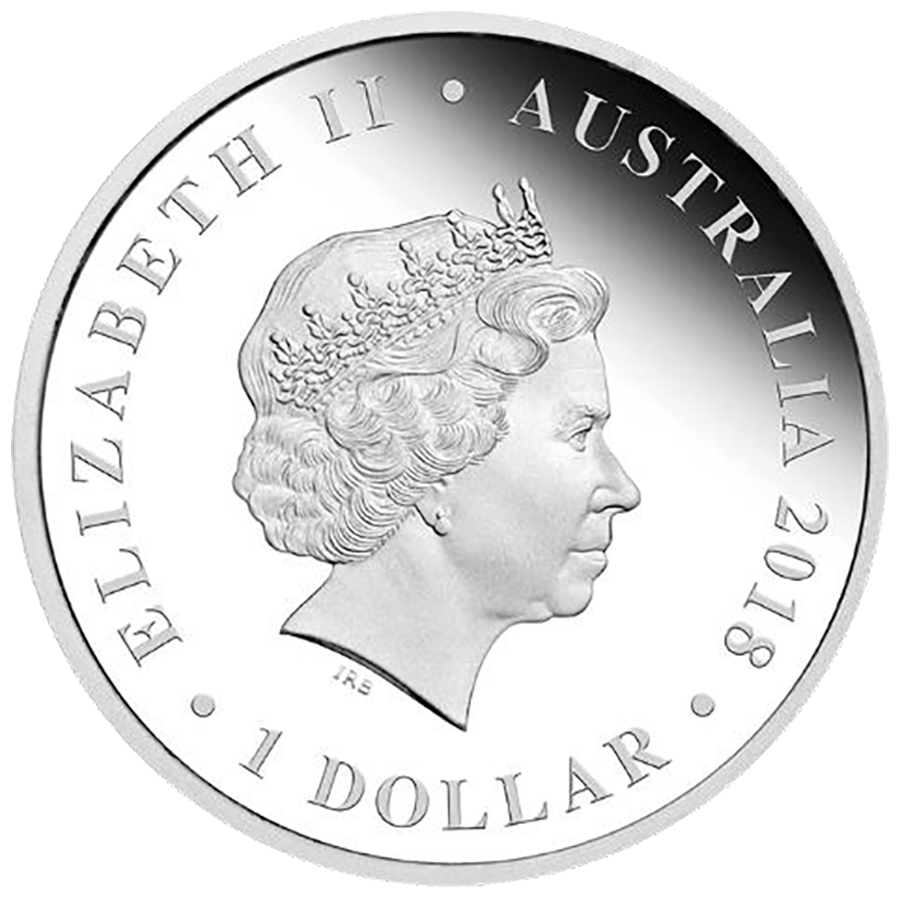 2018 Australian Proof Wedding 1oz Silver Coin (Image 2)