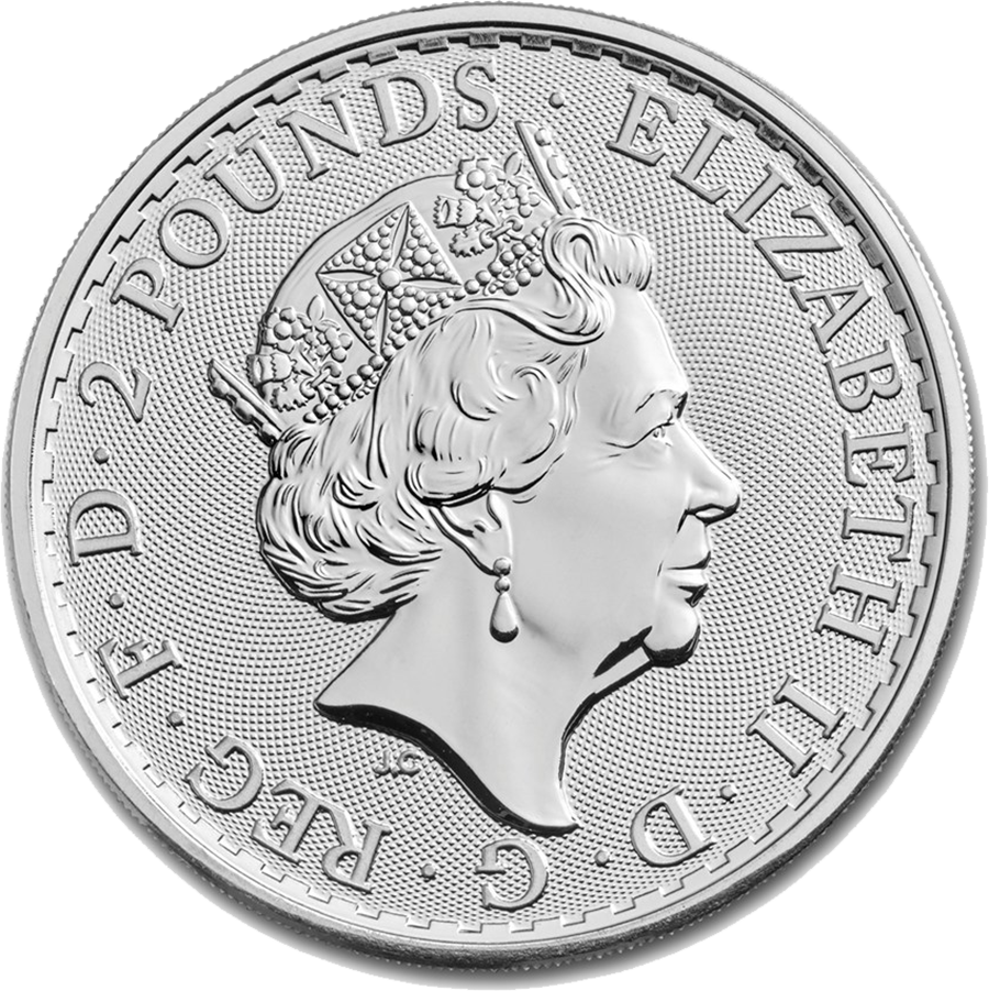 2018 UK Britannia 1oz Silver Coin (Image 2)