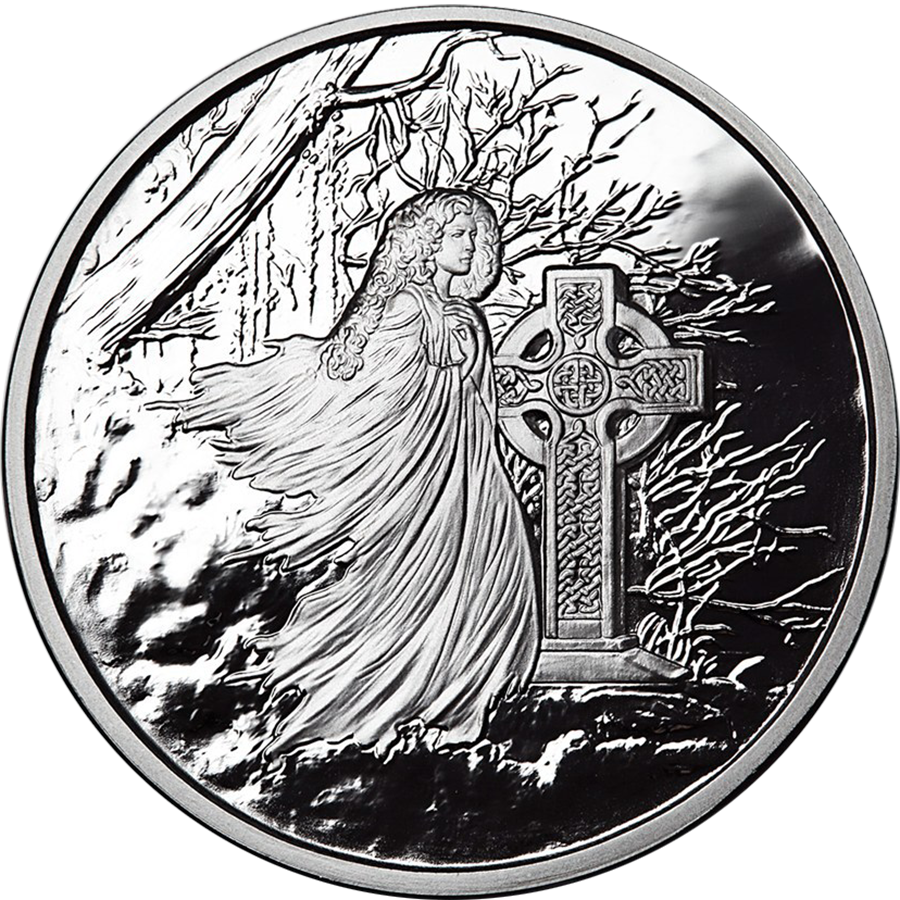 Celtic Lore: Banshee 1oz Silver Proof Round