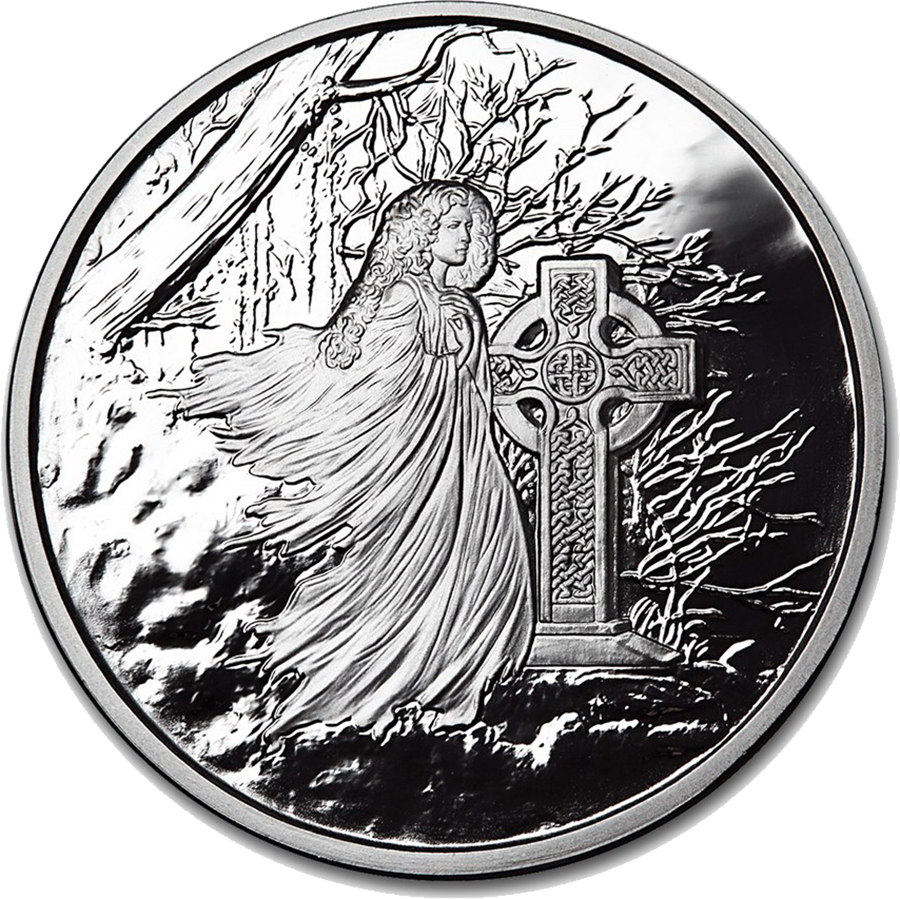 Celtic Lore: Banshee 5oz Silver Proof Round