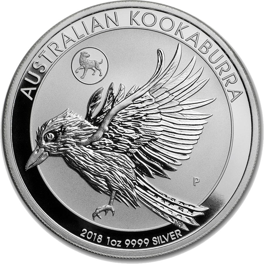 2018 Kookaburra 1oz Lunar Dog Privy Silver Coin Buy