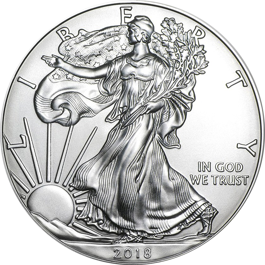 2018 USA Eagle 1oz Silver Coin