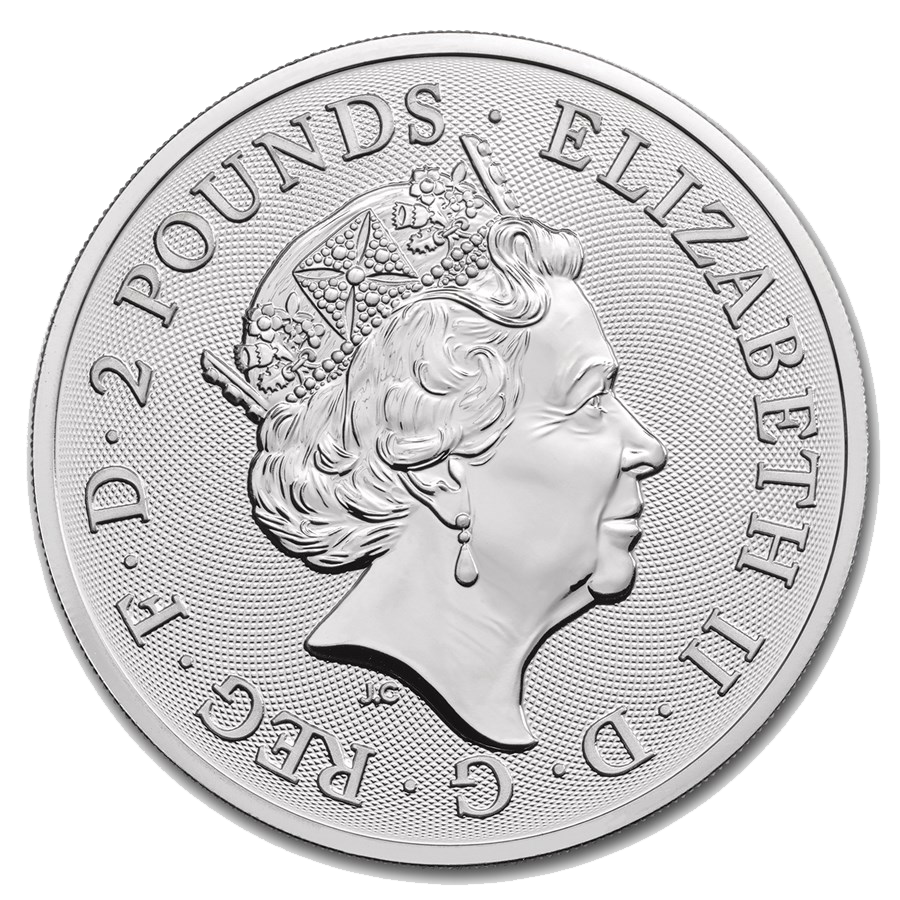 2019 UK Lunar Pig 1oz Silver Coin (Image 2)
