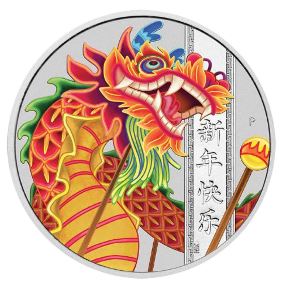 2019 Australian Chinese New Year 1oz Silver Coin