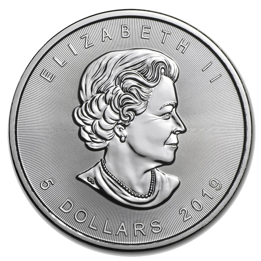 2019 Canadian Maple 1oz Silver Coins For Sale Free