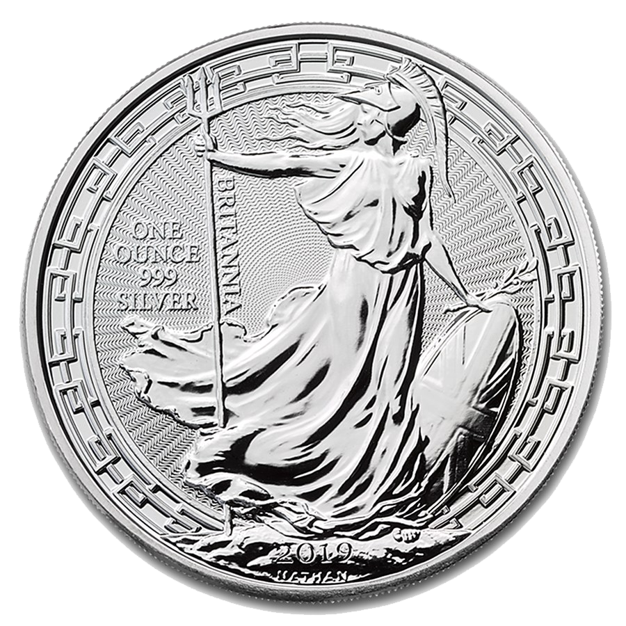 2019 UK Britannia Oriental Border 1oz Silver Coin
