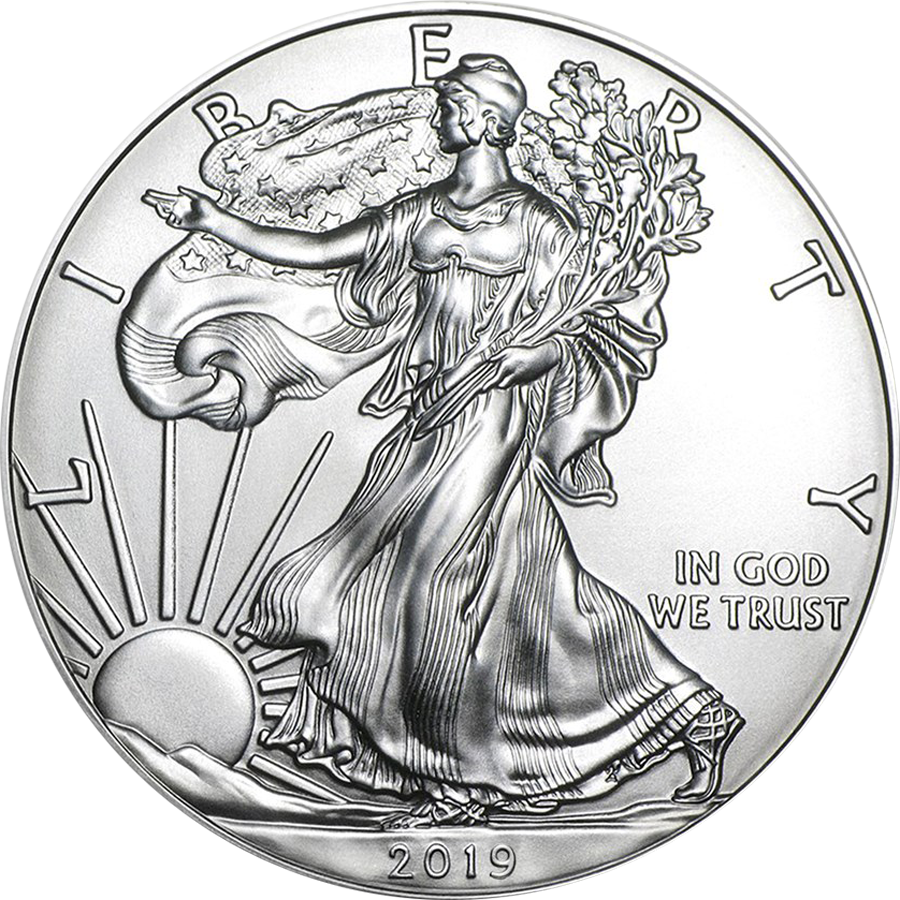 2019 USA Eagle 1oz Silver Coin