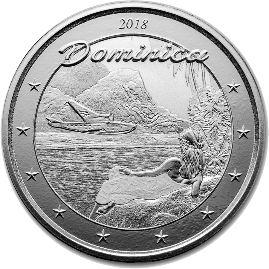2018 Dominica Nature Isle 1oz Silver Coin
