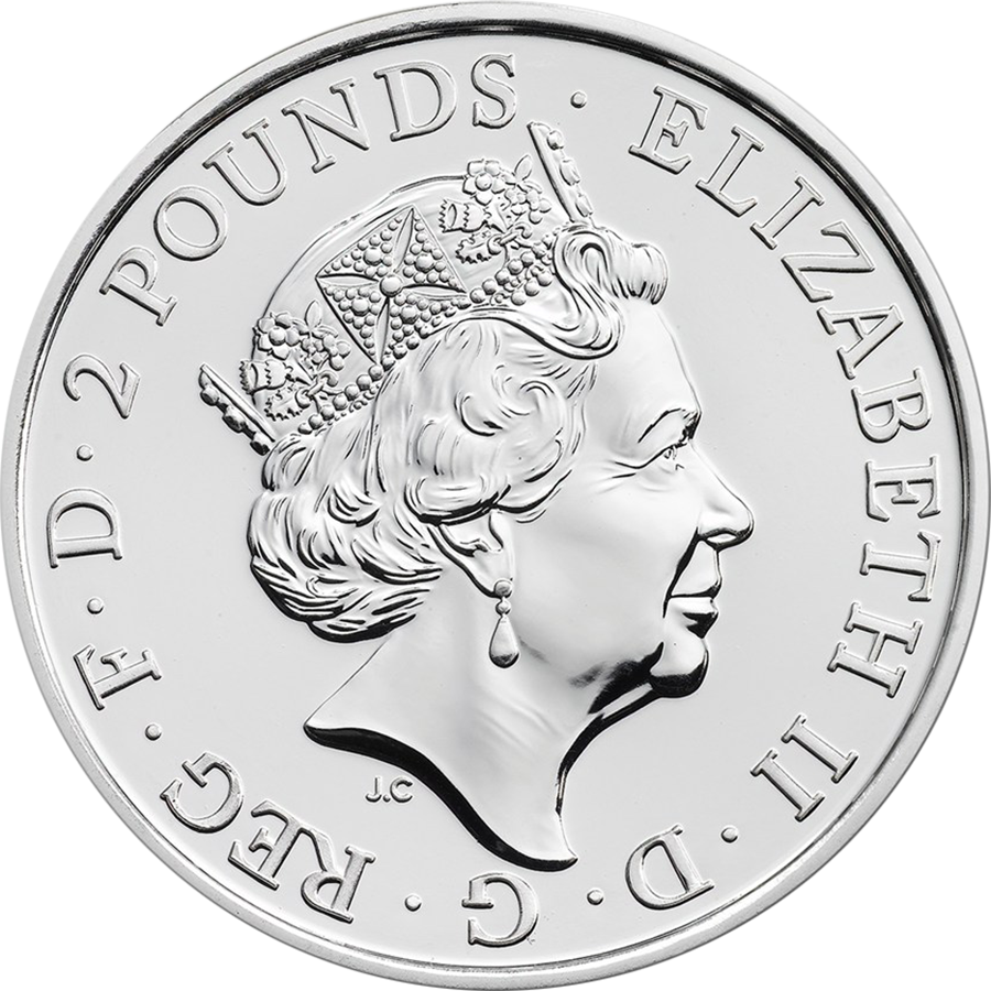 2016 UK Lunar Monkey 1oz Silver Coin (Image 2)