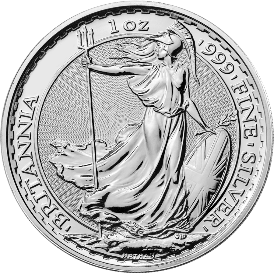 Pre-Owned Post 2012 UK Britannia 1oz Silver Coin - VAT Free