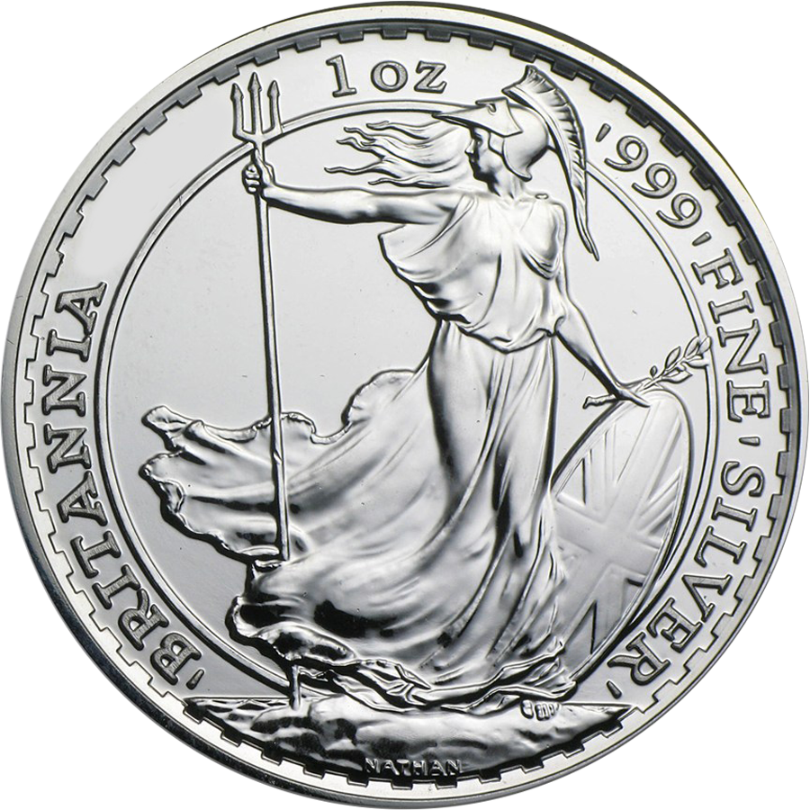 Pre-Owned Post 2012 UK Britannia 1oz Silver Coin - VAT Free (Image 2)