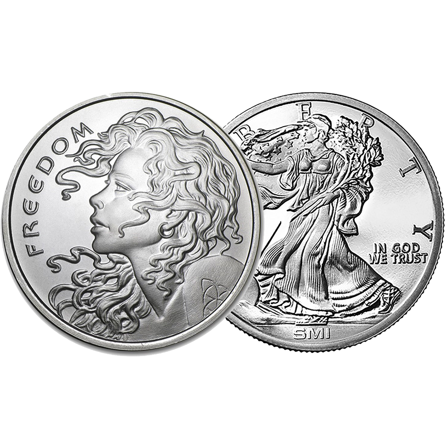 Pre-Owned 1oz Silver Round