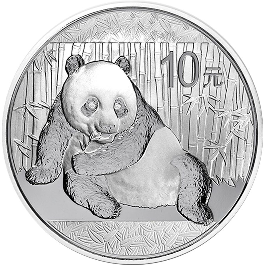 Chinese Panda 1oz Silver Coin - Mixed Dates
