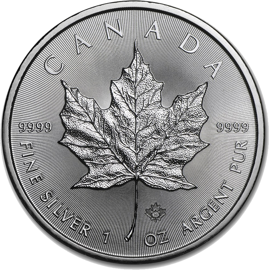 Canadian Maple 1oz Silver Coin