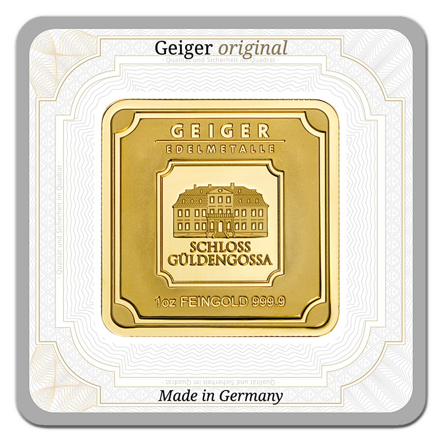 Geiger Edelmetalle 1oz Gold Bar