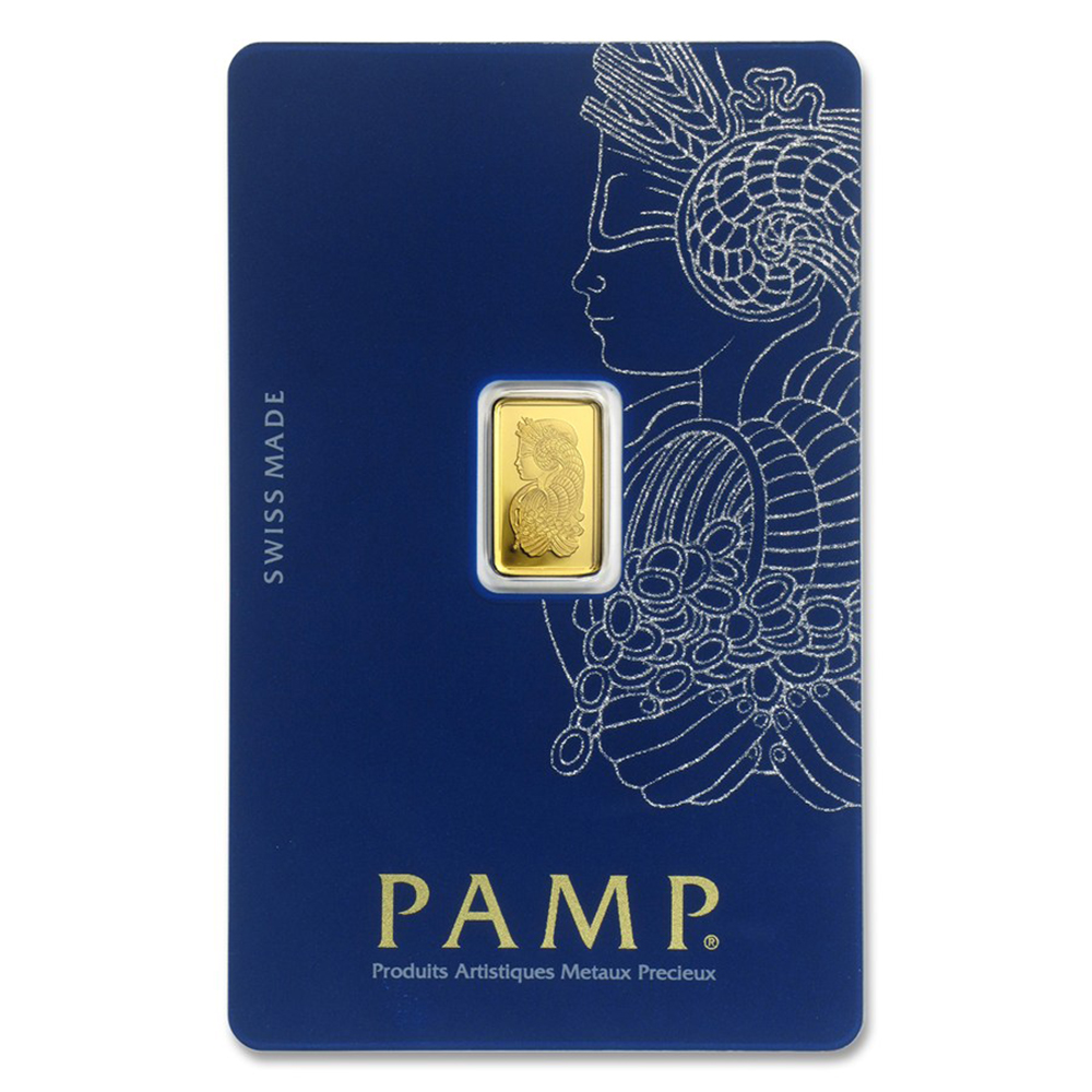 PAMP Suisse Fortuna 1g Gold Bar (Image 1)